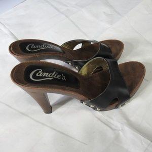 d068277d282 Vintage Candie s Heels Slides Sandals Italy